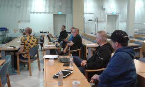 Virtuaalivirtuoosit kokoustivat Luksiassa 9.9.2016.